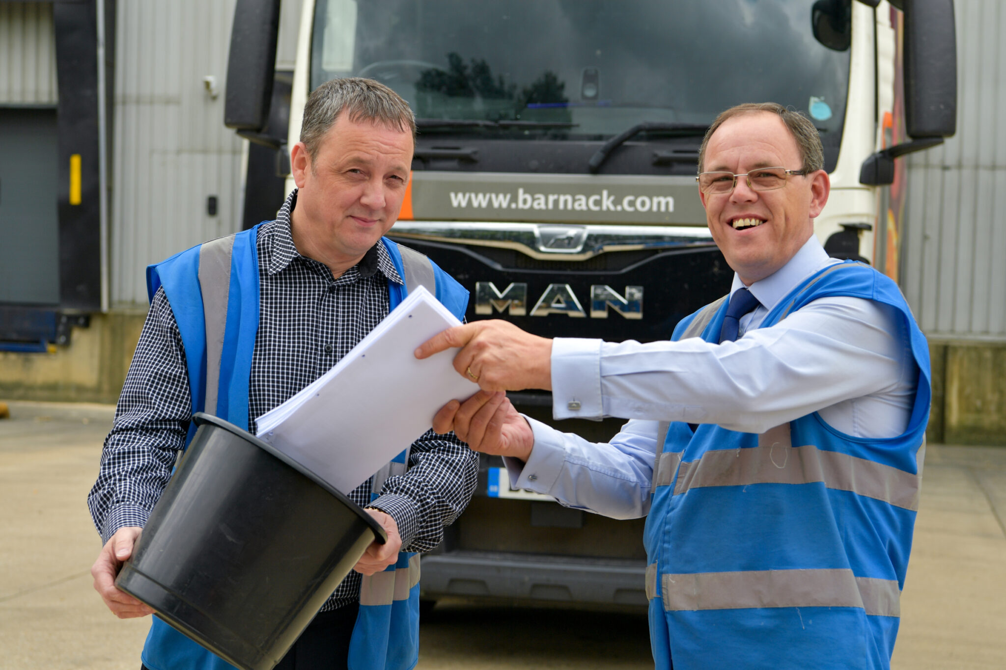 Peterborough based Barnack Storage and Logistics operations manager Charlie McGuire and MD Stephen Knight say goodbye to the paper based system they have traditionally used to manage their transport operations in favour of the Mandata TMS Go! cloud transport management system.