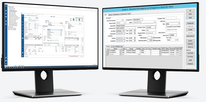 Mandata TMS and Stirling WMS Integration