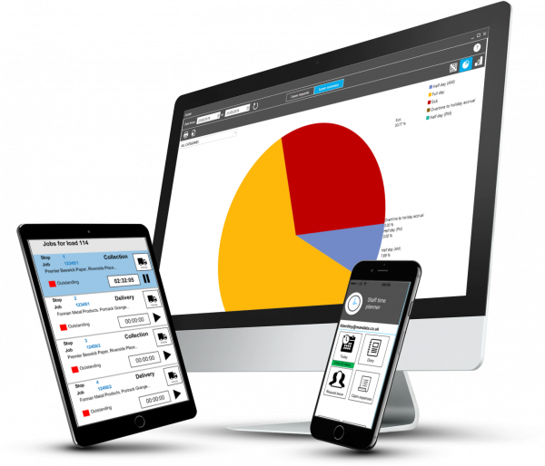 Easy expenses app for holiday requests and timesheets for road transport operators