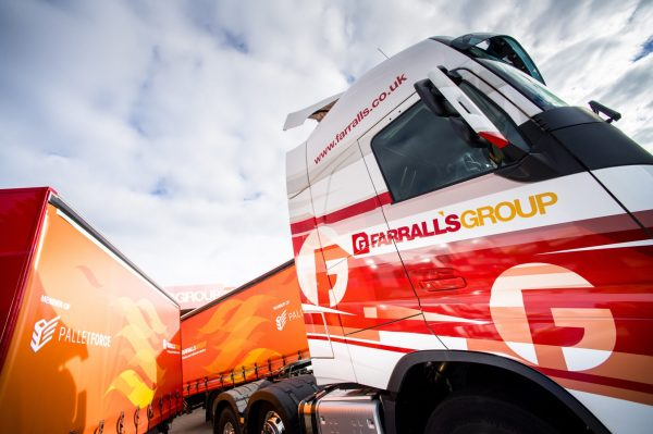 Farralls Transport use Mandata TMS and integrated solutions
