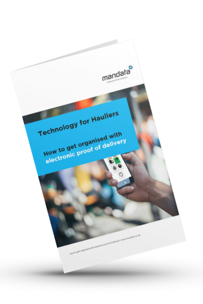 Mandata ebook, how to get more organised with electronic proof of delivery