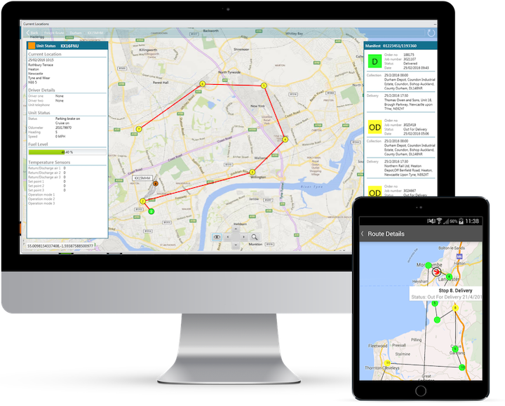 Road Transport Management Software for Haulage Operators including mobile solutions